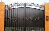фото: кованые ворота 15