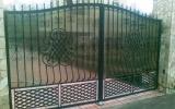 фото: кованые ворота 2