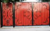 фото: кованые ворота 20