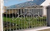 фото: забор кованый 12