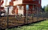 фото: забор кованый 13