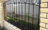 фото: забор кованый 25