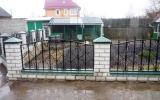 фото: забор кованый 26