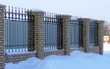 фото: забор кованый 31