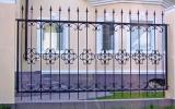 фото: забор кованый 34