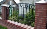 фото: забор кованый 4