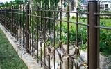 фото: забор кованый 9