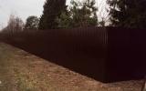 фото: забор из металлопрофиля 5