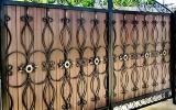 фото: кованые ворота 19