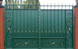 фото: кованые ворота 23