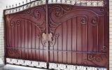 фото: кованые ворота 25