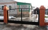 фото: кованые ворота 3
