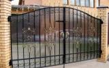 фото: кованые ворота 31