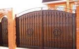 фото: кованые ворота 35
