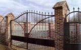 фото: кованые ворота 9