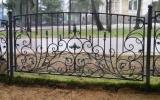фото: забор кованый 17