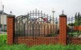 фото: забор кованый 24