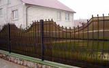фото: забор кованый 28