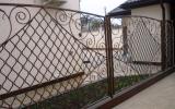 фото: забор кованый 7