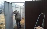 фото: забор из металлопрофиля 2