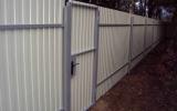 Забор из металлопрофиля